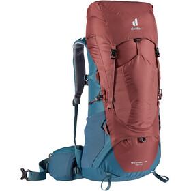 deuter Aircontact Lite 40 + 10 Backpack, redwood/arctic